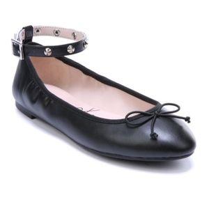 NWOB Libby Edelman Clarissa Ankle Strap Flats